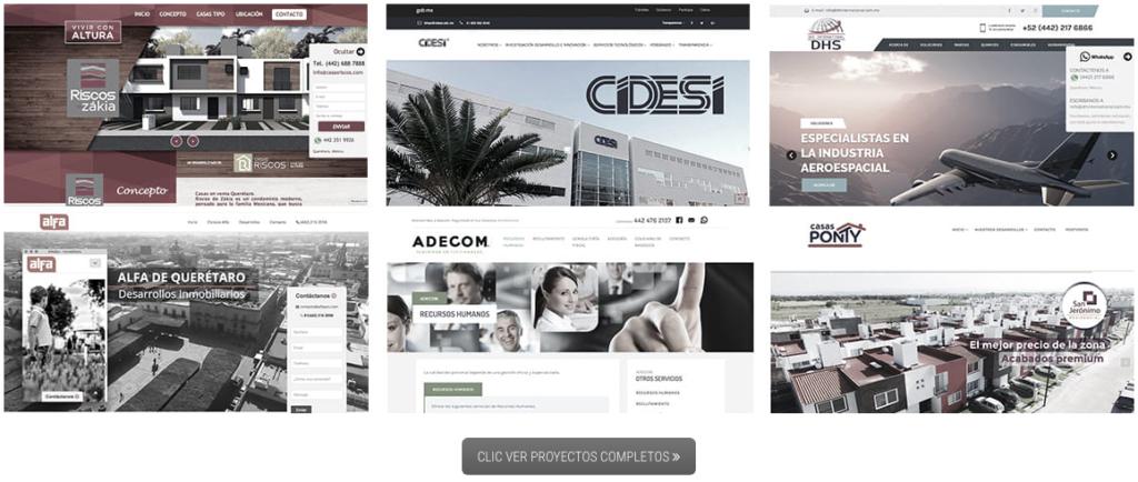 Diseño de Páginas web en Querétaro