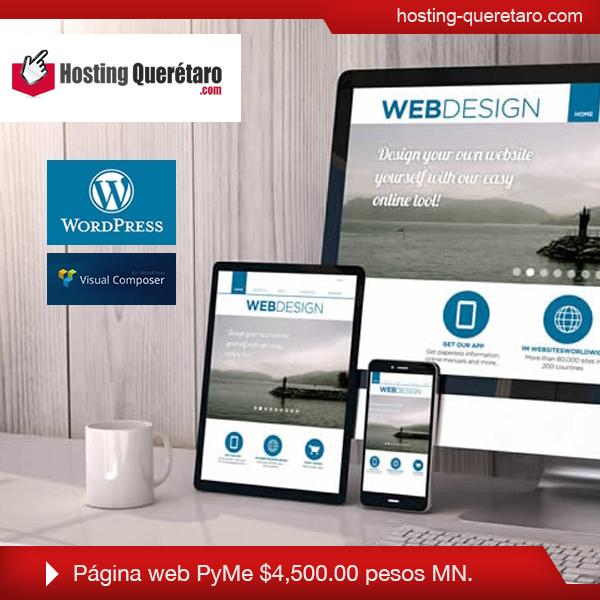 página web responsive pyme sitioswebqueretaromx